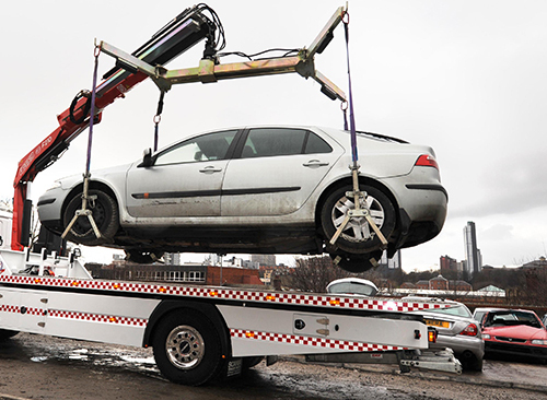 Scrap car Removal downtown GTA