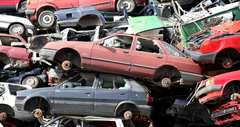 SCRAP CAR REMOVAL IN TORONTO